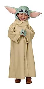 Kids the Child baby yoda Costume