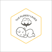 Pure organic cotton for baby's thinner and more porous skin
