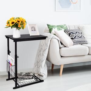 adjustable side table