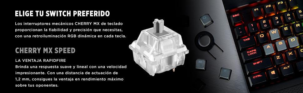 Corsair K70 MK.2 RGB Teclado Mecánico Gaming ...