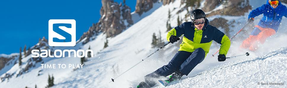 82573f6e10 Salomon Juke esquí para niños (6-12 años), Compatible con Gafas de ...