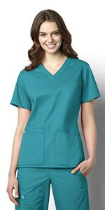 Stretch, WonderWink, Scrubs, Hospital, Uniforms, Tops