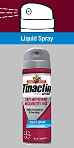 Tinactin AF Athletes Foot Liquid Spray anti fungal infection medication treatment athletes foot