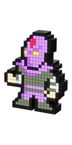 PDP Pixel Pals Teenage Mutant Ninja Turtles Foot Soldier Collectible Lighted Figure