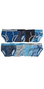 boys underwear briefs colorful design comfortable cotton