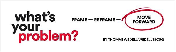 problem solving, problems, reframing, reframe, reframe problems, thomas wedell-wedellsborg, solution