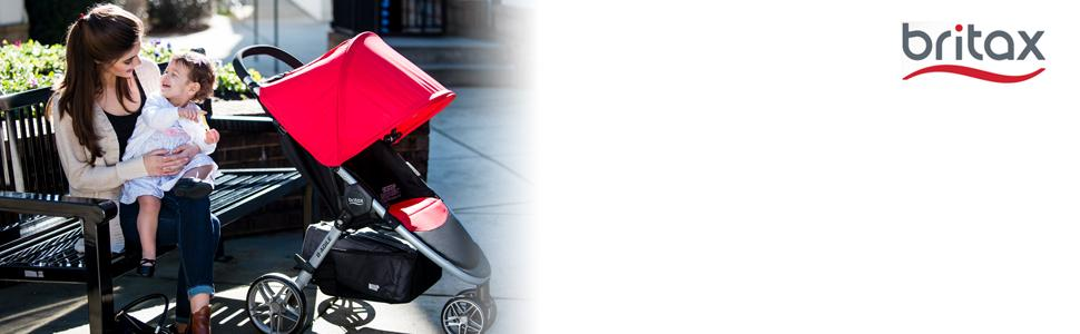 britax, b-agile, stroller, lightweight, quick-fold