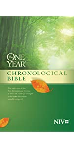chronological in order events daily reading bible study devotional quiet time each day notes niv