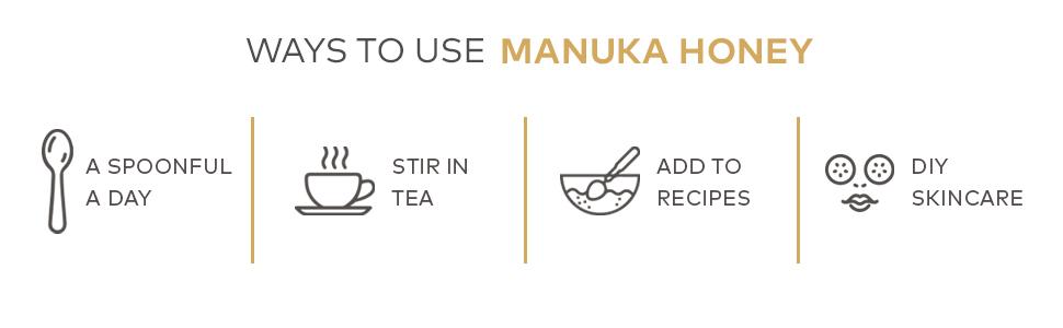 Ways to use manuka honey