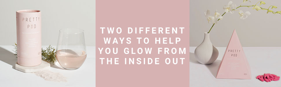 Two different ways to glow