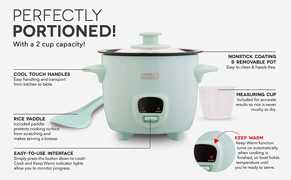 Mini Rice, Cooker, cooking, 2, cup