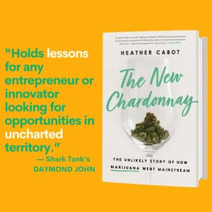The New Chardonnay,  Heather Cabot, cbd books, books on cannabis,  pop culture books,