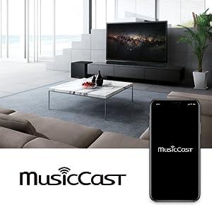 Musiccast;soundbar;features;wireless