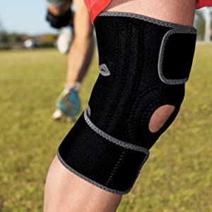 dcfe660989 Amazon.com: ACE Brand Knee Brace with Dual Side Stabilizers ...