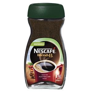 Nescafe Blend 43 150G ESPRESSO COFFEE
