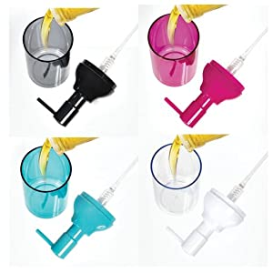 college dorm easy fill soap pump vanity organize space saving modular pink aqua teal black white can