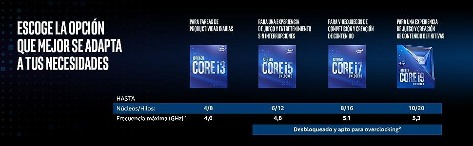 Procesador intel core i7-10700K de 10ma generacion para equipos de sobremesa
