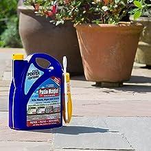 Patio Magic! Power Sprayer - no patio scrubbing