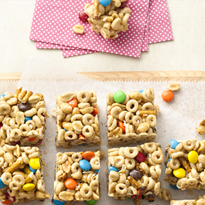 Sweet-and-Salty Cereal Bars