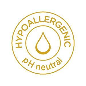 Hypoallergenic pH neutral