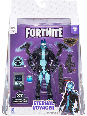 6 action figures inch fortnite weapons jazwares characters toys epic games battle royale