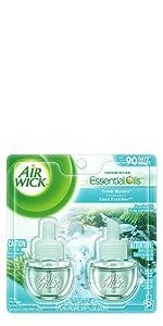 Room air freshener freshner plug ins plugins freshmatic essential oils refills air wick airwick