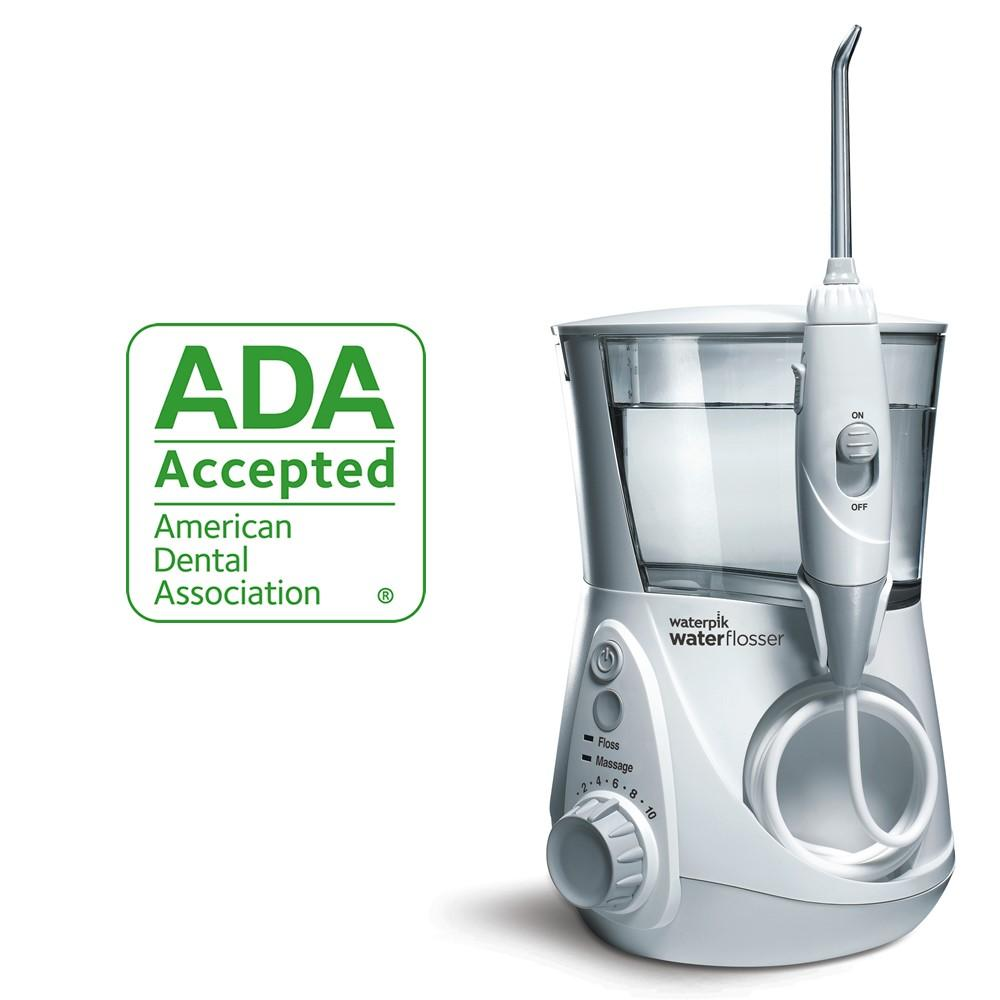 waterpik ada accepted wp 660 aquarius water flosser beauty. Black Bedroom Furniture Sets. Home Design Ideas