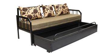 sofa cum bed, metal sofa cum bed, sofa with bed , metal sofa , bed metal ,
