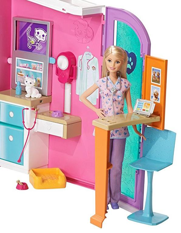 Amazon Com Barbie Pet Care Center Playset Toys Amp Games
