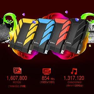 Disco Duro Externo, Disco Duro Externo 1TB, Disco Duro Externo 2TB, Disco Duro Resistente