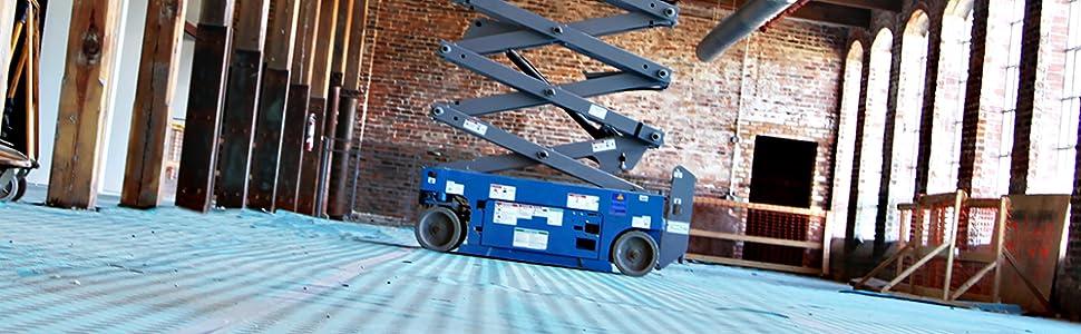 36-inch X 100-feet Trimaco 10 Mil Aqua Shield Surface Protector