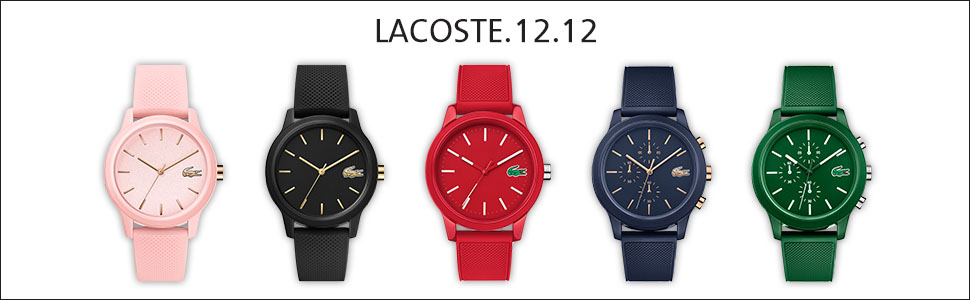 lacoste,L.12.12., Mens watches, ladies watches, comtemporary, sportswear,