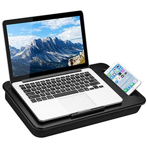 side kick, lap desk, lapgear, phone slot, non-slip, student, college, homework, laptop, notebook