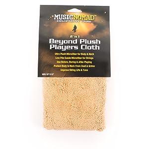 guitar cloth, microfiber suede cloth, plush cloth, suede towel, guitar, bass, guitar accessory