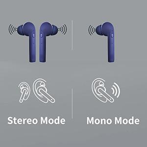 pTron Bassbuds Lite in-Ear True Wireless Bluetooth Headphones (TWS)