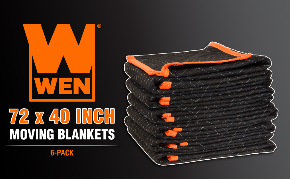 wen moving blanket, moving blanket, moving blankets, wen, 40 inch moving blanket