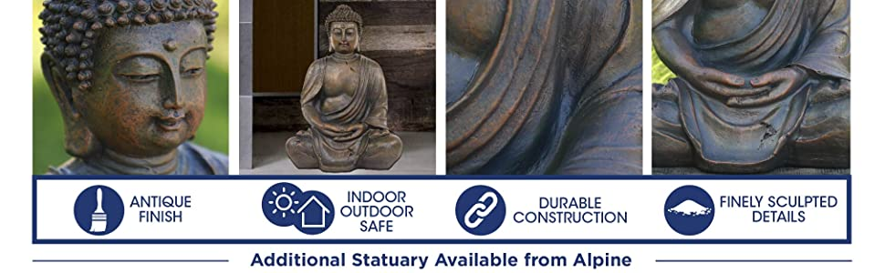GEM170, statue, outdoor statue, statuary, garden, garden statue, patio statue, alpine corporation