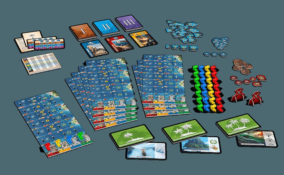 Repos Production- 7 Wonders: Armada (Asmodee ADERP7WEX09): Amazon.es: Juguetes y juegos