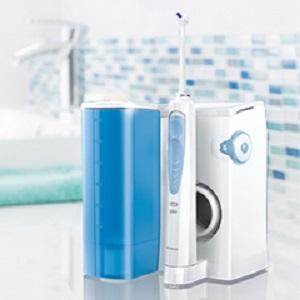 Entdecken Sie die Oral-B Waterjet Munddusche