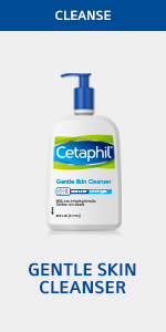 Cetaphil Face Cleanser, Gentle Face Cleanser, Hydrating face wash, facial cleanser for gentle skin