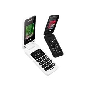 SPC Flip- Teléfono móvil (Dual SIM, Números y Letras Grandes, Agenda hasta 300 contactos, Bluetooth), Negro