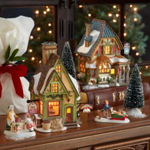Department 56 A Christmas Carol Village Lighting Features
