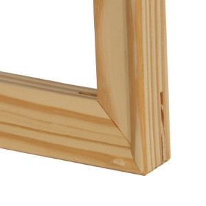 Natural 2 Count Epic Art Group EAG-BAR12LD Solid Wood Stretcher Bars for Canvas Art or Needlepoint
