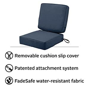 Montlake Fadesafe Patio Cushion Set