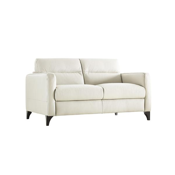 Love Sofa Dimensions: Amazon.com: Natuzzi Editions Isacco Cream Leather