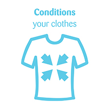 Conditions your Clothes