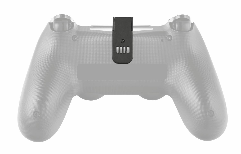 Trust GXT 245 - Base de Carga Doble para PS4, Color Negro