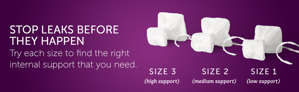 Poise Impressa Bladder Support Sizes, Stress Urinary Incontinence Protection, Bladder Control
