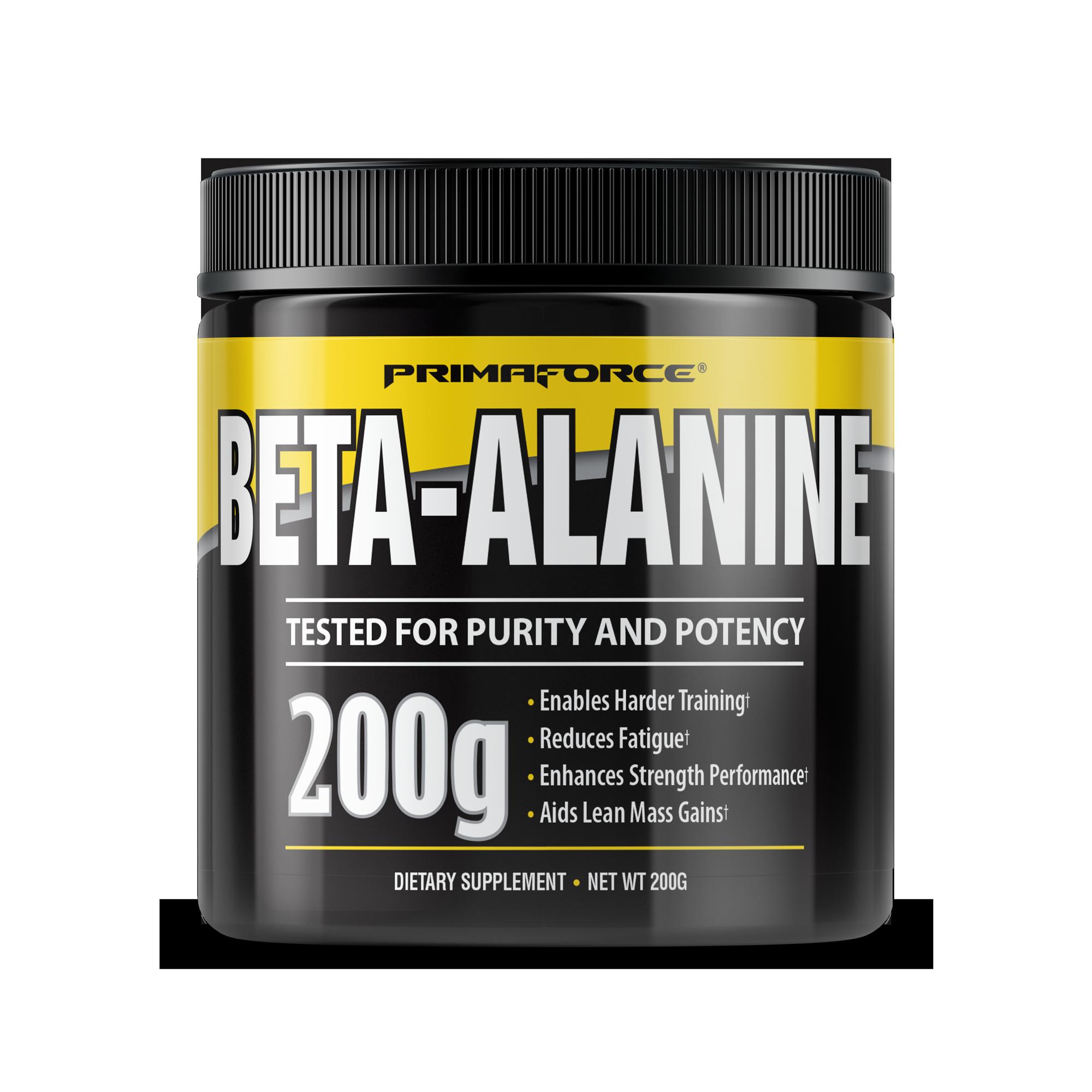 beta alanine muscle gain