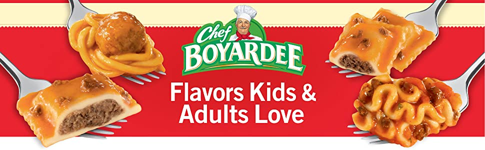 Easy Family Meals for Kids and Adults – Chef Boyardee